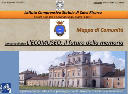 Mappe di comunità di Caserta e Benevento 2014-2015
